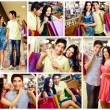 Foto Stock: Romantic shopping