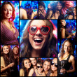 Cool clubbers - Stock Photo