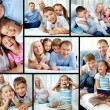 Family at leisure — Stock Photo #12731304