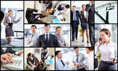 Business atmosphere — Stock Photo