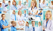 Successful practitioners — Stock Photo