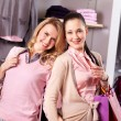 Beautiful shoppers — Stock Photo