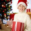 Royalty-Free Stock Photo: Santa boy