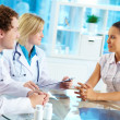 Medical consultation — Stock Photo #13723347