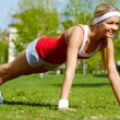 Stock Photo: Physical exercise