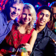 Partying friends — Stock Photo