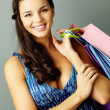 Successful shopper — Stock Photo