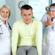 Unlucky patient — Stock Photo