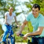Cyclist — Stock Photo #13723915