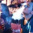 Enjoying hookah - Photo