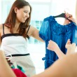 Choosing dress — Stock Photo #13724015