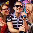 Karaoke party — Stock Photo #13724085
