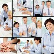 Excellent workers — Stock Photo