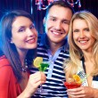 Friends having party — Stock Photo