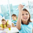Smart pupil — Stock Photo #13724221