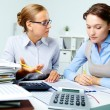 Accountants at work — Stock Photo #13724359