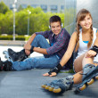 Friends at leisure — Stock Photo #13724370