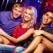 Stock Photo: Young clubbers