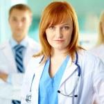 Female practitioner — Stock Photo