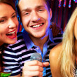 In karaoke bar — Stock Photo #13724666