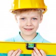 Little architect — Stock Photo #13724687