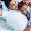 Relaxed couple — Stock Photo