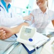Stock Photo: Blood pressure equipment