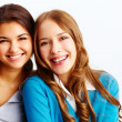 Glad girls — Stock Photo