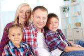 Casual family — Stock Photo