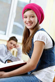 Studente intelligente — Foto Stock