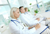 Medical conference — Stock Photo
