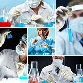 Bio research — Stock Photo