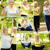 активные тренинги — Стоковое фото