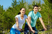 Couple at leisure — Stock Photo