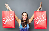 Let's go for sale! — Stock Photo