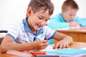 Okulda çizim — Stok fotoğraf