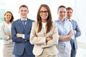 Business leadership — Foto Stock