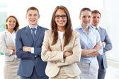 Liderança empresarial — Foto Stock