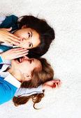 Gossip — 图库照片