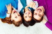 Adolescentes eufóricos — Foto de Stock