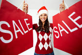 Christmas sale — Stock Photo