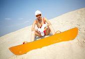 Embarque de bikini — Foto de Stock