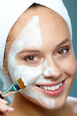 Facial mask — Stock Photo