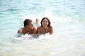 Joy in water — Stock Photo