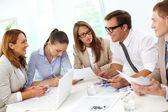Werkvergadering — Stockfoto