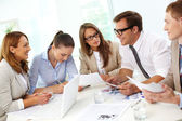 Working meeting — Stock Photo