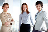 Group of females — Stock Photo