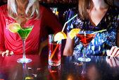 Tre cocktail — Foto Stock