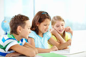 Learners studying — Stock Photo