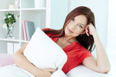 Restful female — Stock Photo